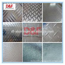 Placa de piso de alumínio de diamante 3000