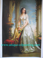 classical people oil painting