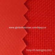 Plain Fabric, 6P and Plain PVC, Good Texture, Widely Used for Luggage, Bags