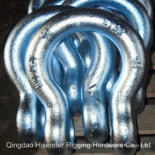 Bow Type Forged Shackle, Us Type G2130, G2150 Body, E. Galvanized