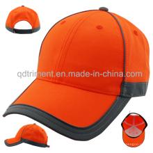 Bandoulière réfléchissante 100% Polyester Neon Color Baseball Cap (TMB0686)