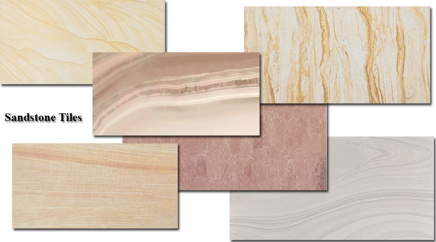 ceramic natural stone effect tiles
