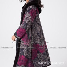 Kopenhagen Mink Fur Women Reversible Overcoat