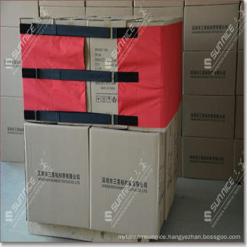 Reusable Adjustable Pallet Covering Film with Hook and Loop