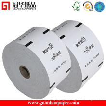 ISO9001 80mm Breite ATM Papierrolle