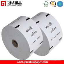 ISO9001 Rollo de papel ATM de largura 80 mm