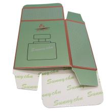 caja plegable de papel personalizada