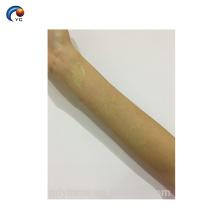 Brilho natural do corpo no escuro adesivo tatuagem com etiqueta do tatuagem de corpo fortemente leve, temporária