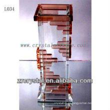 Bonito vaso de cristal L034