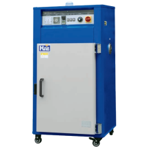 Industrial cabinet dryer for injection