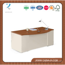 Alloy Metal Bow Front Executive Desk
