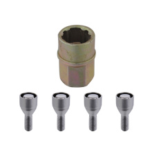 12mmx1.25 sleeve conical seat locking bolts