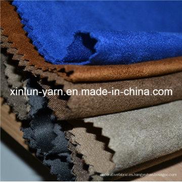 Tela de algodón 100% poliéster de venta caliente para tapicería