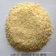 Granulado de alho desidratado 8-16 Mesh