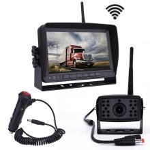 Kit de sistema de câmera de visão traseira do monitor retrovisor do veículo