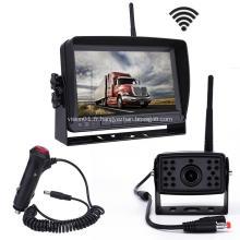 Système de moniteur de vision arrière Kit de caméra de vision arrière HD antichoc IR de vision nocturne HD