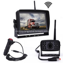 Vehicle Rearview Monitor System Shockproof IR Night Vision HD Rear View Camera Kit