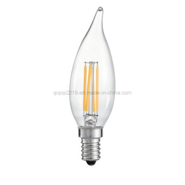 3.5W Ca32 Candle LED Filament Bulb