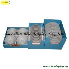 Placas, té China, tazón de fuente, menaje de cocina, utensilio de cocina, soporte de exhibición, caja de embalaje (B & C-D038)
