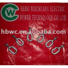 cable Line fitting - anillo de extensión de acero galvanizado