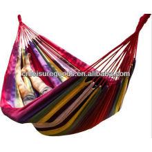 Wholesale Portable Parachute Striped Double Hammock