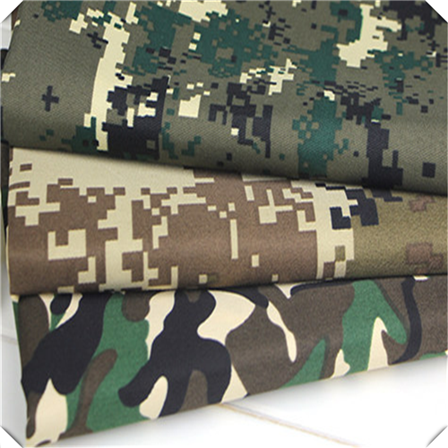 80 Polyester 20 Cotton Twill Printed Fabric For Camouflage
