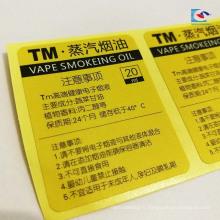 Autocollants d'étiquette de test auto-adhésifs imprimés par couleur pour l'étiquette de scelleur de matériel d'électron