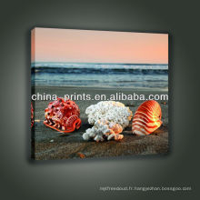 Hot Selling Canvas Print À partir d'une image personnalisée pour le décor de salle de séjour