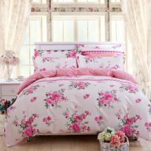 Warm Quilt Cover Bed Sheets Textiles para el hogar 4PCS Juegos de sábanas