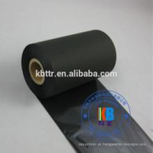 Fita térmica da impressora TTR tipo black wash resin thermal ribbon