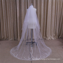 Embroidery Wedding Veil