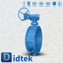 DIDTEK Top Quality butterfly valve dn1000