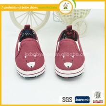 Sapatos de bebê de lona de toque suave e barato em projetos de abundância 2015 sapatos de atacado Mocassins de bebê