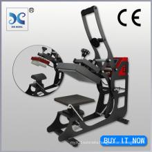 Auto-Open Cap & Clothing Label Heat Press Machine