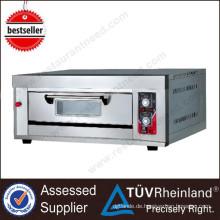 Heißer Verkauf Bäckerei Ausrüstung 1-Schicht 2-Fach Preis von Pizzaofen