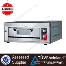 Hot Sale Bakery Equipment 1-Layer 2-Tray Price Of Pizza Oven