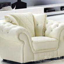 Sofá decorativo Tela 100% cuero de poliéster