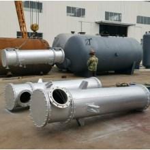 Enfriador de aceite tubular de la planta de energía de la turbina de vapor de gas