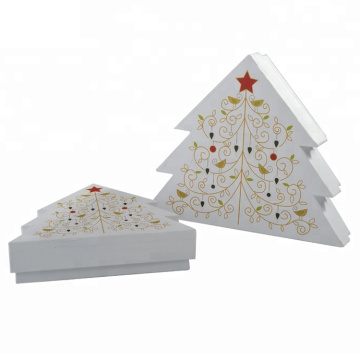 Vrolijk Kerstboomdocument Gift Box Packaging