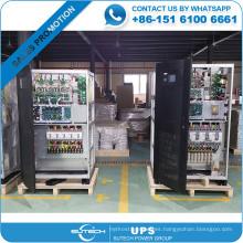 Entrada trifásica y salida trifásica UPS de la industria 300kva para uso en bancos / hoteles / hospitales / bases de datos