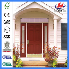 *JHK-FD06 Fiberglass Kitchen Door Wood Grain Fiberglass Door Craftsman Fiberglass Door
