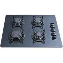 Tempered Glass Built in 4 Burner Gas Hob, Gas Stove