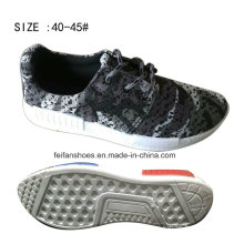 2016 Latest Cheap Men′s Injection Breathable Flyknit Casual Sneaker Shoes