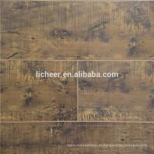 Piso laminado barato interior piso de superfície de seda