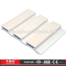 Plastic Slatwall With Three Gaps,Marble Design Pvc Wall Cladding