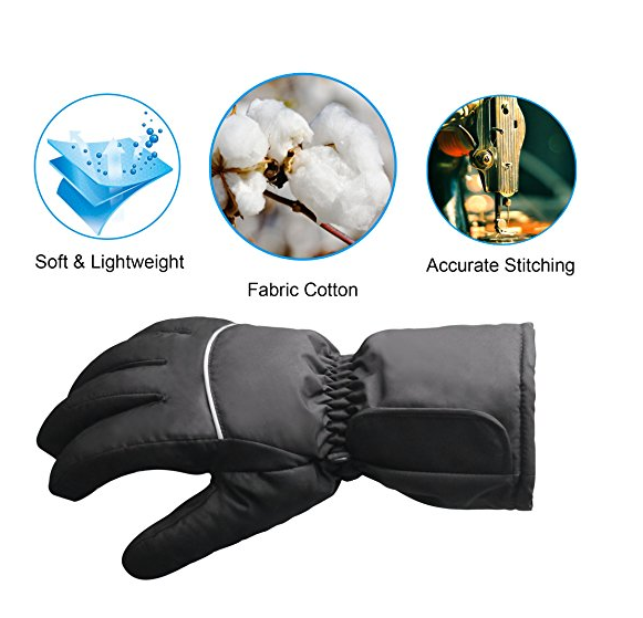 One Pair Electric Shock gloves