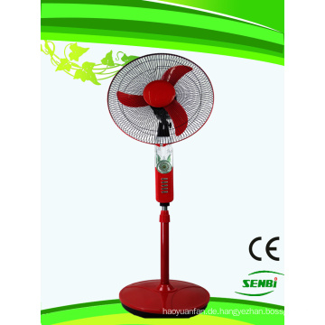 16inches wiederaufladbare Stand Fan 12V DC Fan FT-40DC-RM