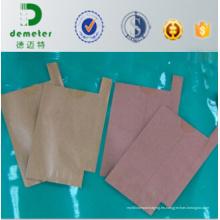Bolsas de embalaje de fruta de papel compuesto antibacteriano / antiinsectos de alto grado de la fruta con la entrada de la salida para el uso de la granada