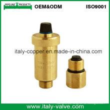 Certificado CE Garantía de Calidad Latón Válvula de ventilación de aire (IC-3067)