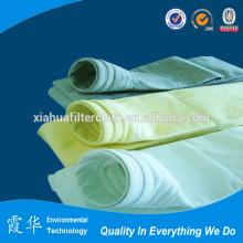 PTFE sacos feltro filtro para fábrica de cimento